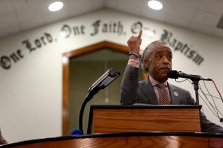 The Rev. Al SharptonJoe Raedle/Getty Images