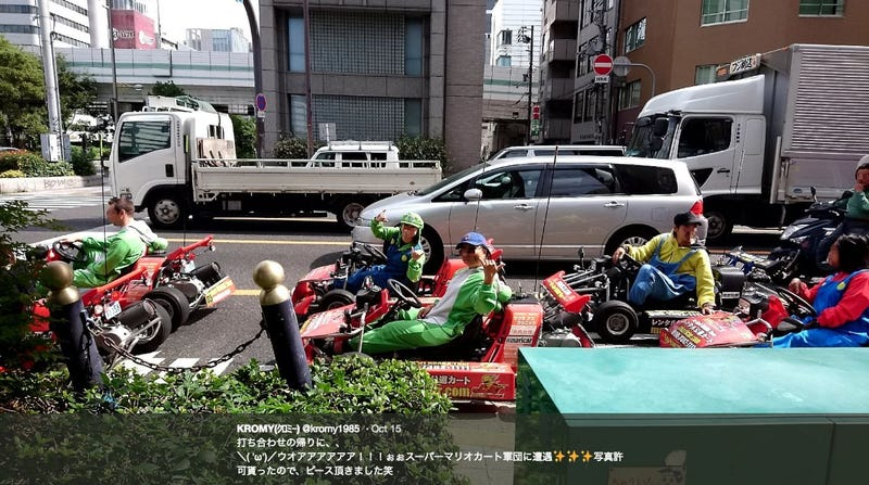 After Nintendo's Lawsuit Win, Japan's Unofficial Mario Kart Continues