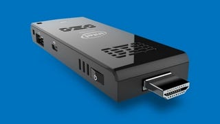 Illustration for article titled Intel's $150 HDMI Stick Turns Any TV Into a Windows Desktop