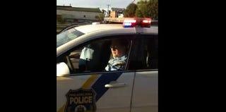 Screenshot of Philadelphia Police video