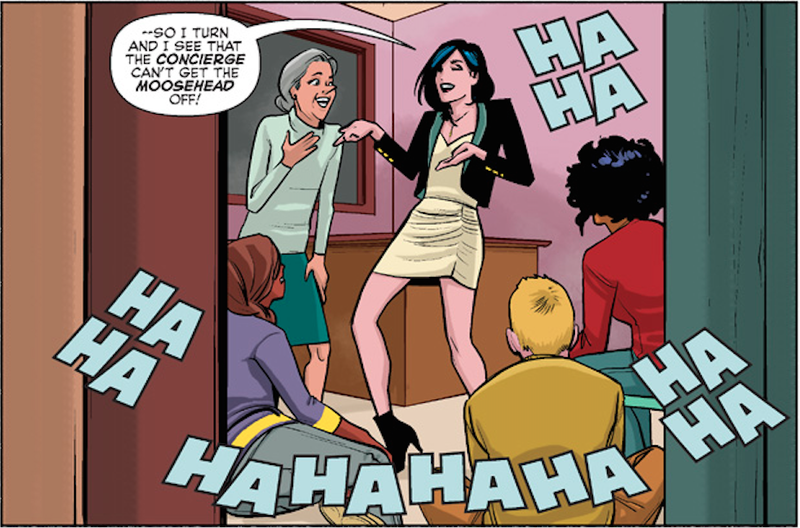 Illustration for article titled Archie Comics' New Version of Veronica Is Like, Totally, A Better Type of Kardashian
