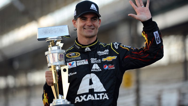 Illustration for article titled Personal Nightmare Jeff Gordon To Retire From NASCAR After 2015