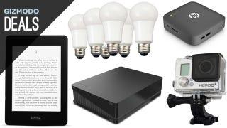Illustration for article titled Deals: Kindle Paperwhite, Chromebook/Box, LED Bulbs, GoPro Black