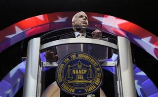 Illustration for article titled McCain in Obamaland