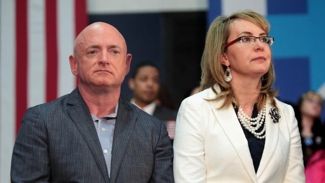 Mark Kelly, Retired Astronaut and Husband of Gabby Giffords, Announces Senate Bid