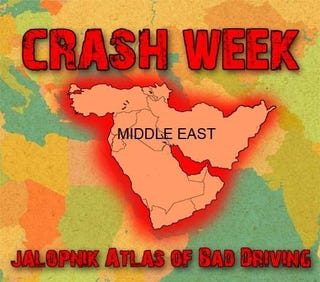 Illustration for article titled World Atlas Of Bad Driving: The Middle East