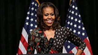 First lady Michelle ObamaMark Wilson/Getty Images