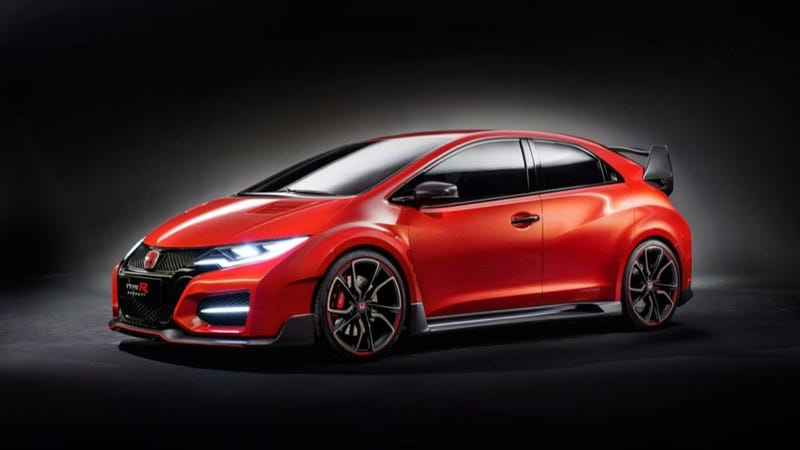 Illustration for article titled The Honda Civic Type R Is The Little Hot Hatch Monster To Yearn For