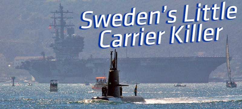 Illustration for article titled Sweden Has A Sub That's So Deadly The US Navy Hired It To Play Bad Guy