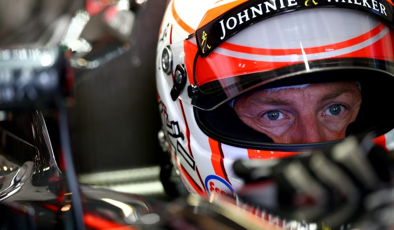 Illustration for article titled Jenson Button Still Hasn't Announced Squat About Retiring (Or Not) From F1