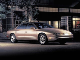 Illustration for article titled A Casual Reminder That the Oldsmobile Aurora was Badass