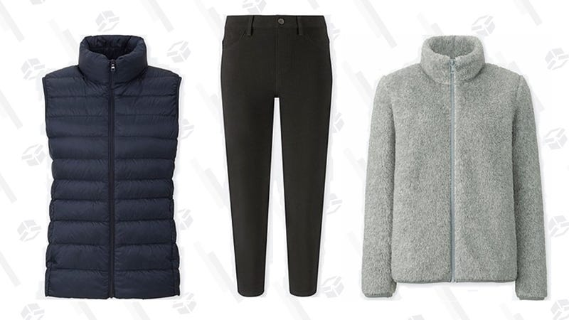 Uniqlo Columbus Day Sale