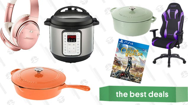 Tuesday s Best Deals: Cuisinart Gold Box, Bose Headphones, Instant Pot, and More
