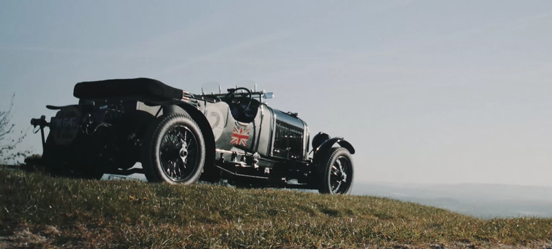 Illustration for article titled A Vintage Bentley Is Meant To Be Driven To The Limit