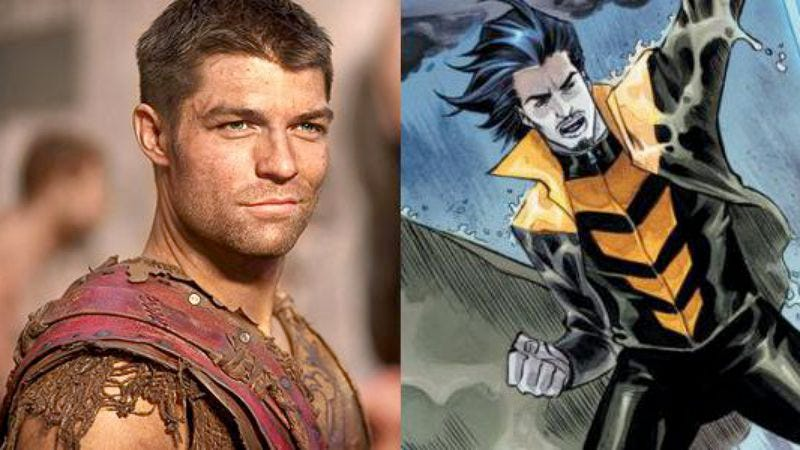 Illustration for article titled Spartacus star Liam McIntyre joins The Flash's Rogues