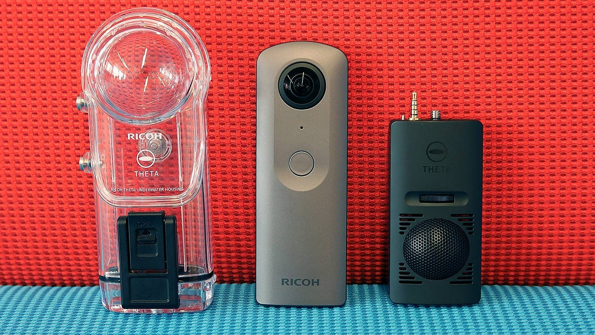 Ricoh's Theta V Is Sharper and More Powerful, But Let's Talk About