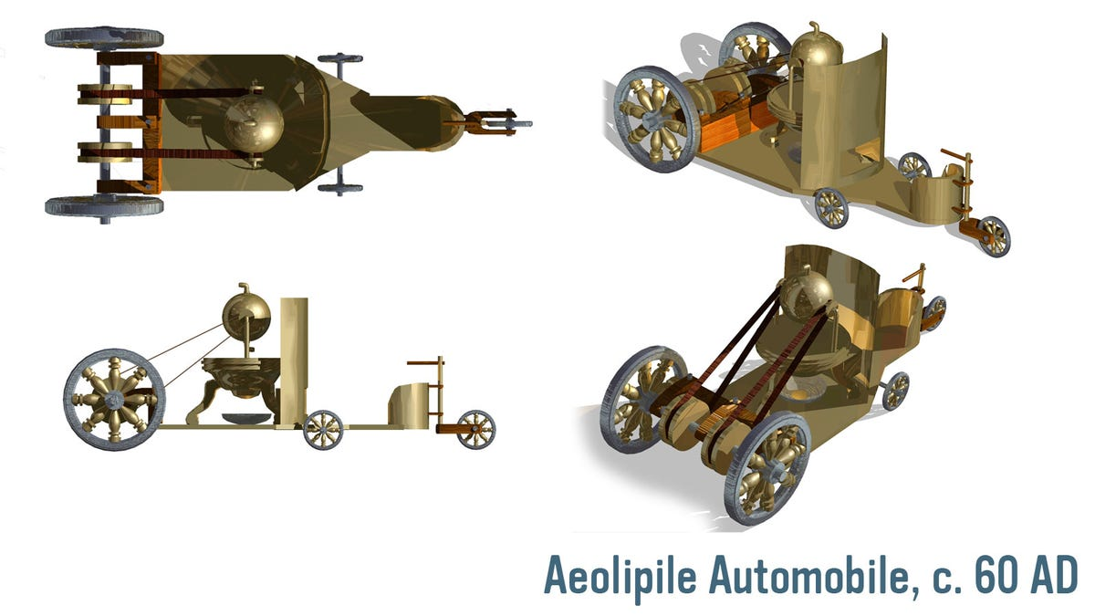 The Greeks Had Technology To Build A Car In 60 Ad Steam Engine Diagram
