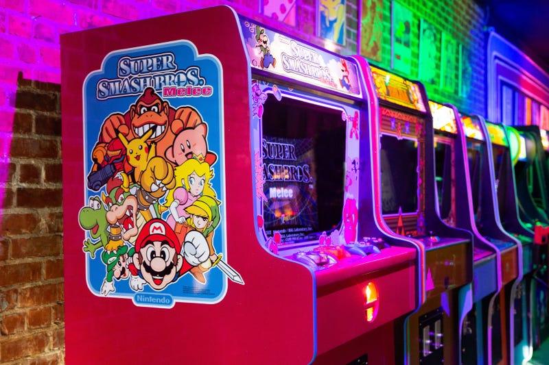 Image: Denver artist Sam Bahman of Rewind by Design (High Scores Arcade Museum of Alamenda and Hayward)