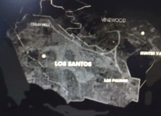 Illustration for article titled Is This Leaked Picture of Grand Theft Auto V's Los Santos Map Real or Fake? [UPDATE]