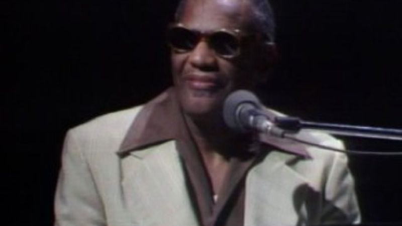 """Illustration for article titled Saturday Night Live (Classic): """"Ray Charles"""""""