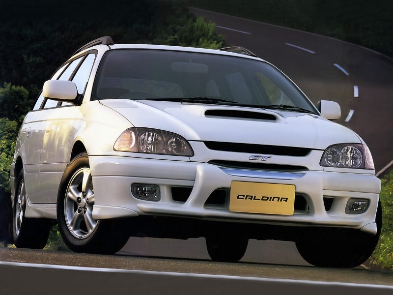 Illustration for article titled Toyota Caldina GT-T