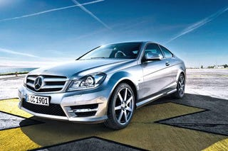 Illustration for article titled 2012 Mercedes C-Class Coupe Gets Kinky
