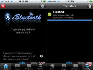 Illustration for article titled iBluetooth Lets iPhone Users Send and Receive Files Over Bluetooth