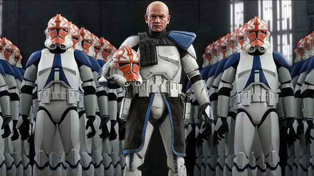 Hot Toys  First Clone Wars Figure Is Incredibly Brain-Breaking
