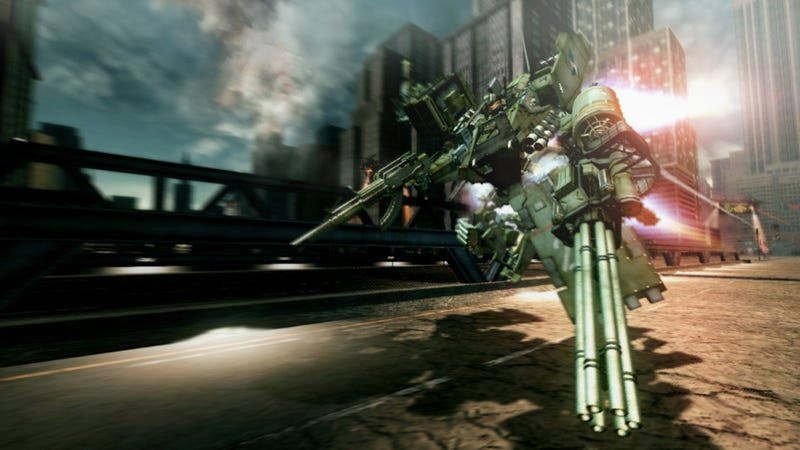 Illustration for article titled 2011's Most Eagerly Awaited Mecha Game Is Now 2012's