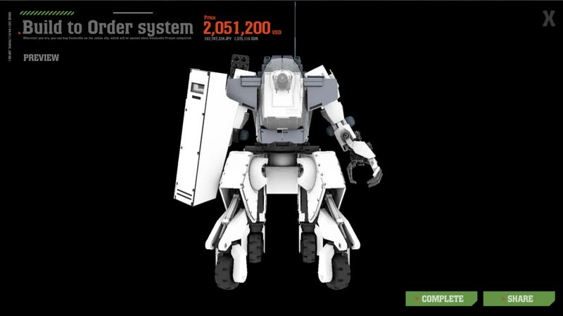 Illustration for article titled I Just Assembled a $2 Million Mecha. It's Glorious.