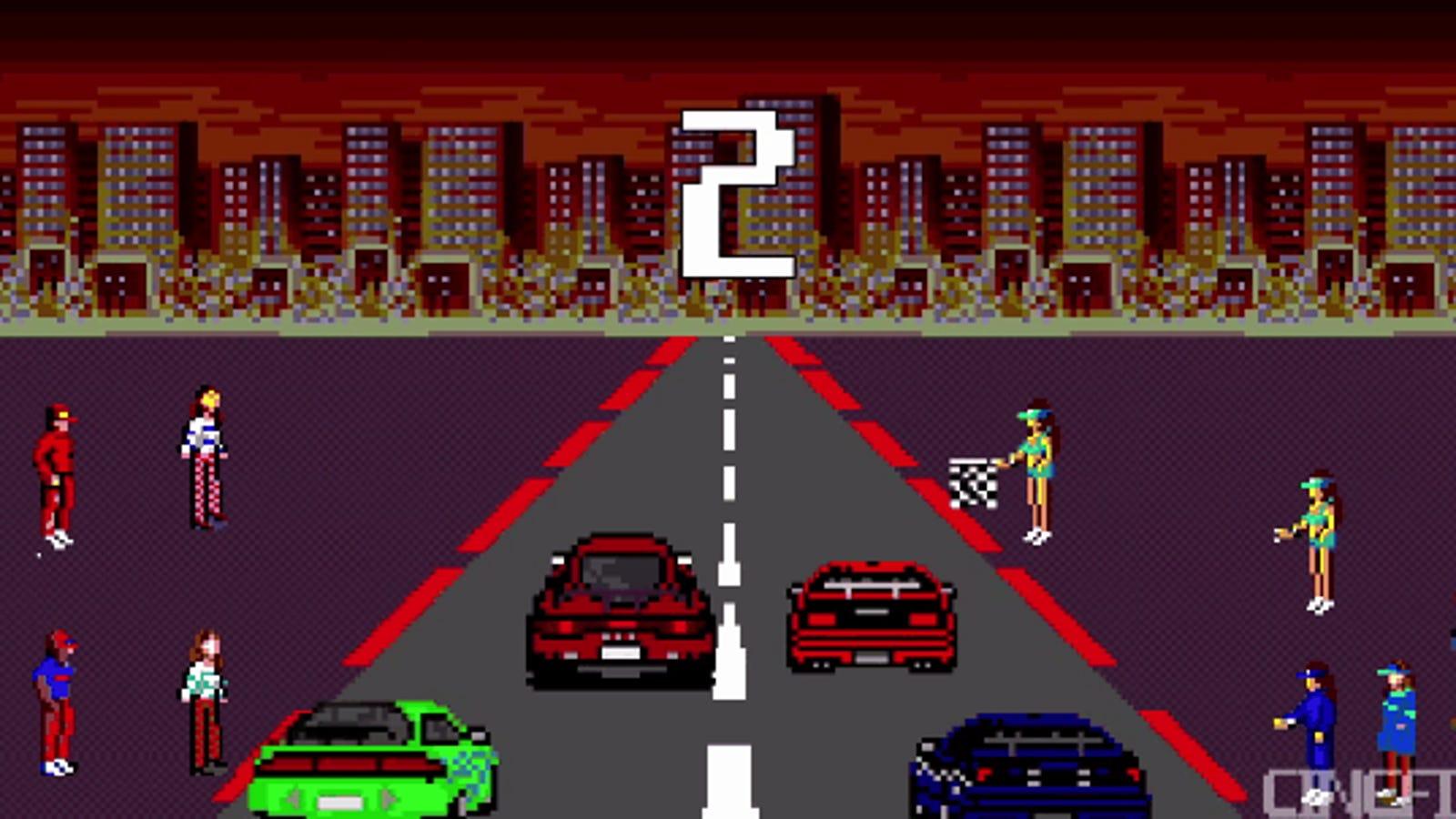 The Fast & The Furious en 8 bit es mucho mejor que la película