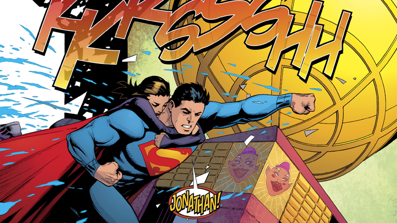 Somehow the fate of superman and lois lane just got more insane image dc comics art by patrick gleason mick gray john kalisz and rob leigh thecheapjerseys Gallery
