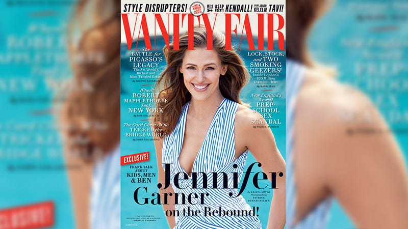 Illustration for article titled Jennifer Garner Talks Nannygate, Ben Affleck's Tat in Wild VF Cover Story: 'He's the Love of My Life'