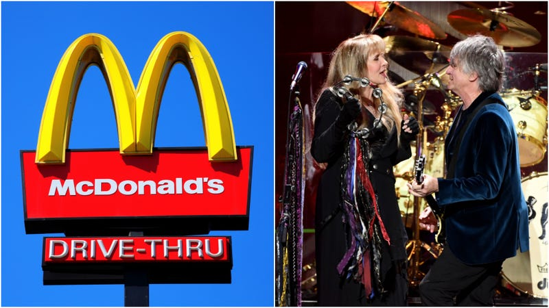 Fleetwood McDonald's workers got to meet Fleetwood Mac