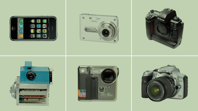 Illustration for article titled The 10 Most Important Digital Cameras of All Time