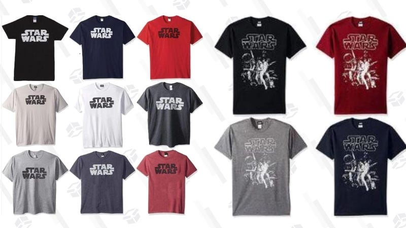 Star Wars Logo Tee | $10 | Daily Steals | Promo code KJSWARSStar Wars Poster Tee | $10 | Daily Steals | Promo code KJSWARS