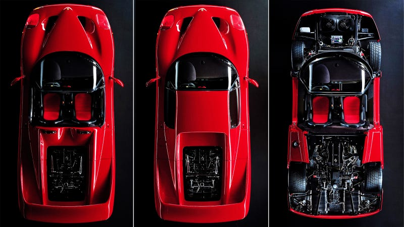 Illustration for article titled Staring At The Ferrari F50