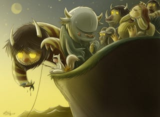 Illustration for article titled Where the wild things CAH