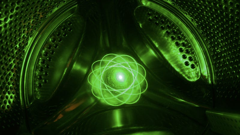 This Must Be How The Large Hadron Collider Looks Like Deep