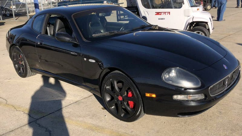 At 12 900 Would You Just Tape Over The Odometer On This 2004 Maserati Coupe Gt