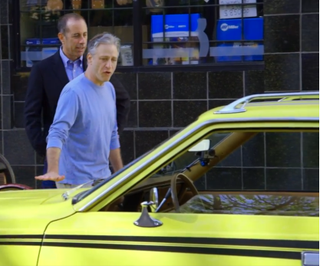 The Car Picture: Jon Stewart and a Gremlin with Jerry Seinfeld