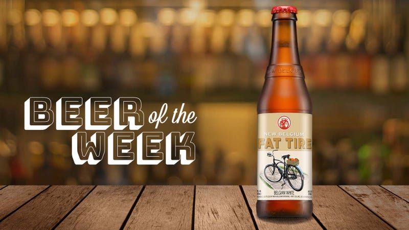 Illustration for article titled Beer Of The Week: New Belgium adds a sibling to Fat Tire family with Belgian White