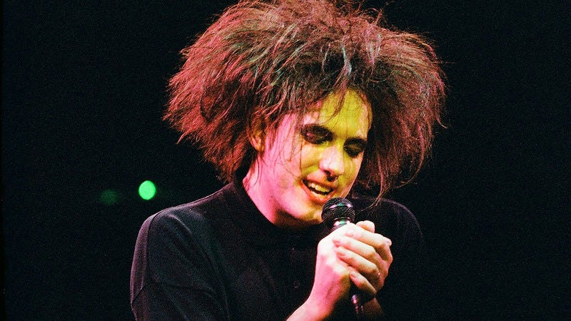 Robert Smith, not a barbarian invader (Photo: Peter Still/Getty Images)