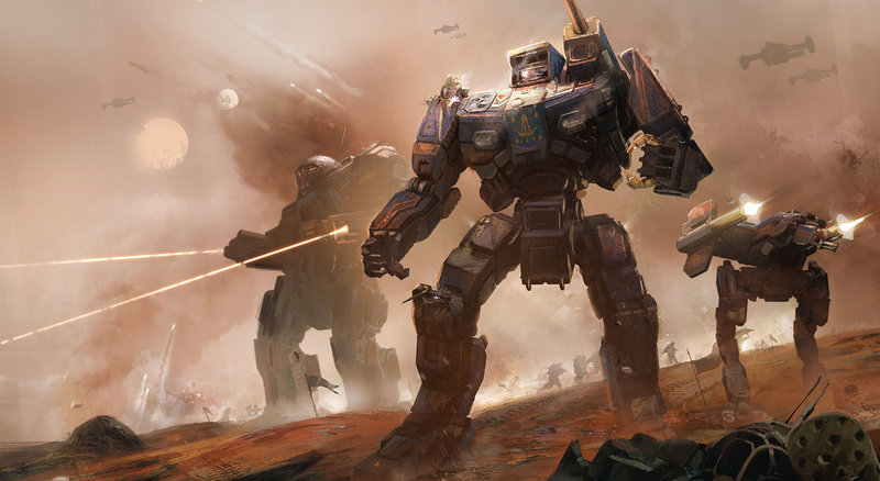 There's tech, and at least one battle, in Battletech.