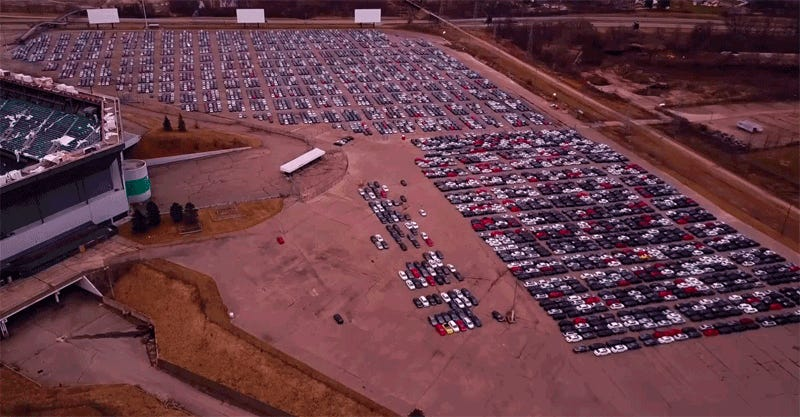 Drone Video Shows The Horrifying Scale Of The Volkswagen Buyback
