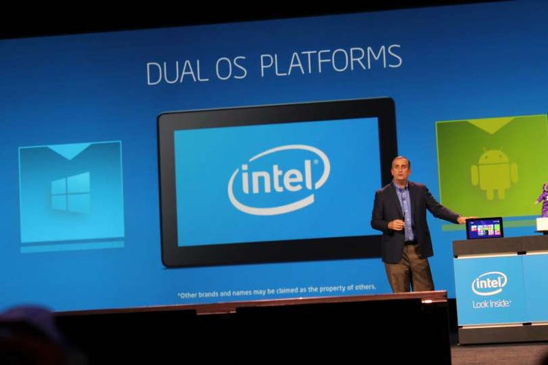 Illustration for article titled Intel Dual OS: Stuffing Android and Windows Into the Same PC