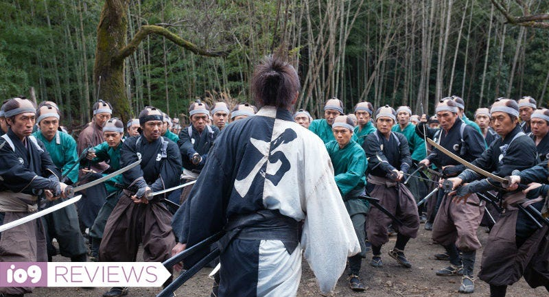 Illustration for article titled Takashi Miike's Blade of the Immortal Is Your Fantasy Samurai Movie Come to Bloody, Violent Life