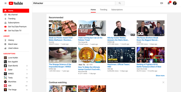 How to Give YouTube a  Classic  Look on Firefox and Chrome