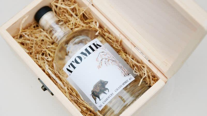 Este vodka ha sido destilado con ingredientes de la zona de exclusión de Chernobyl