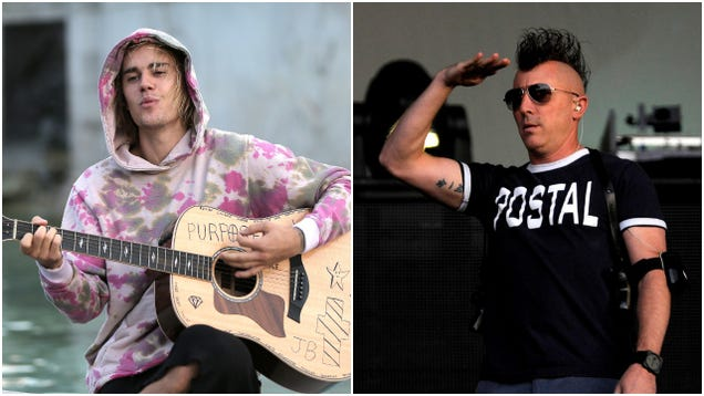 """Tool's Maynard James Keenan addresses his """"feud"""" with Justin Bieber, says he's """"probably a good kid"""""""